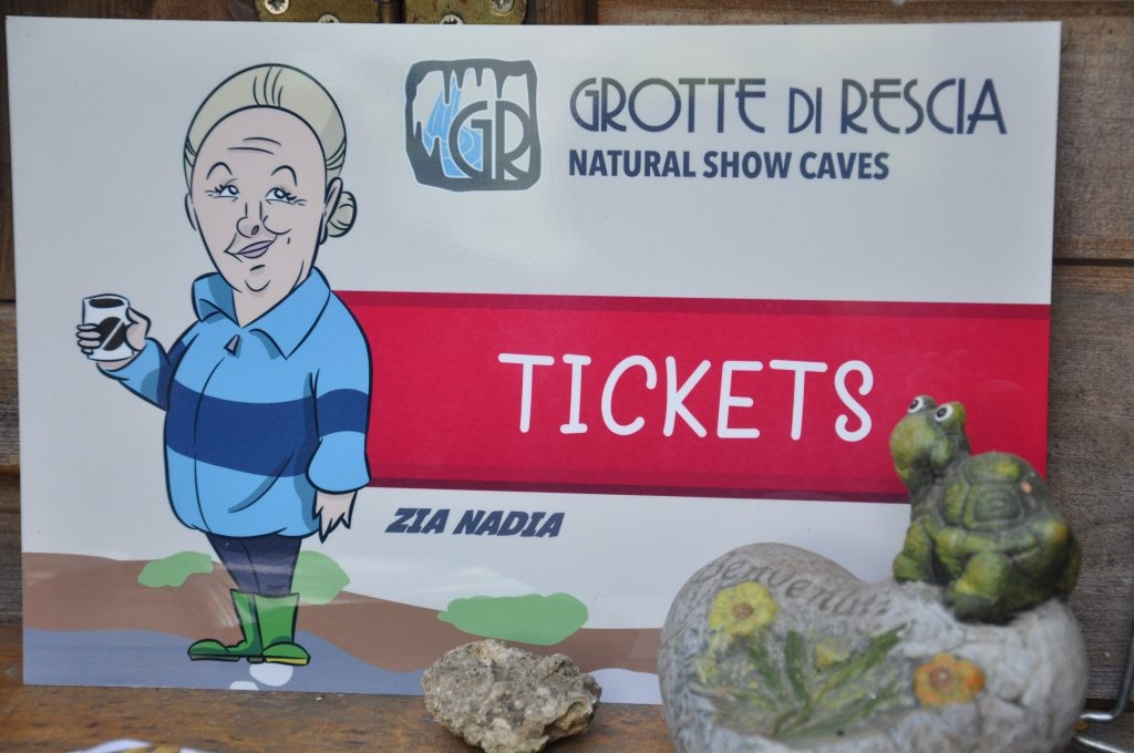 Tickets Grotte Luganersee
