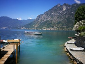 boat Lake Lugano