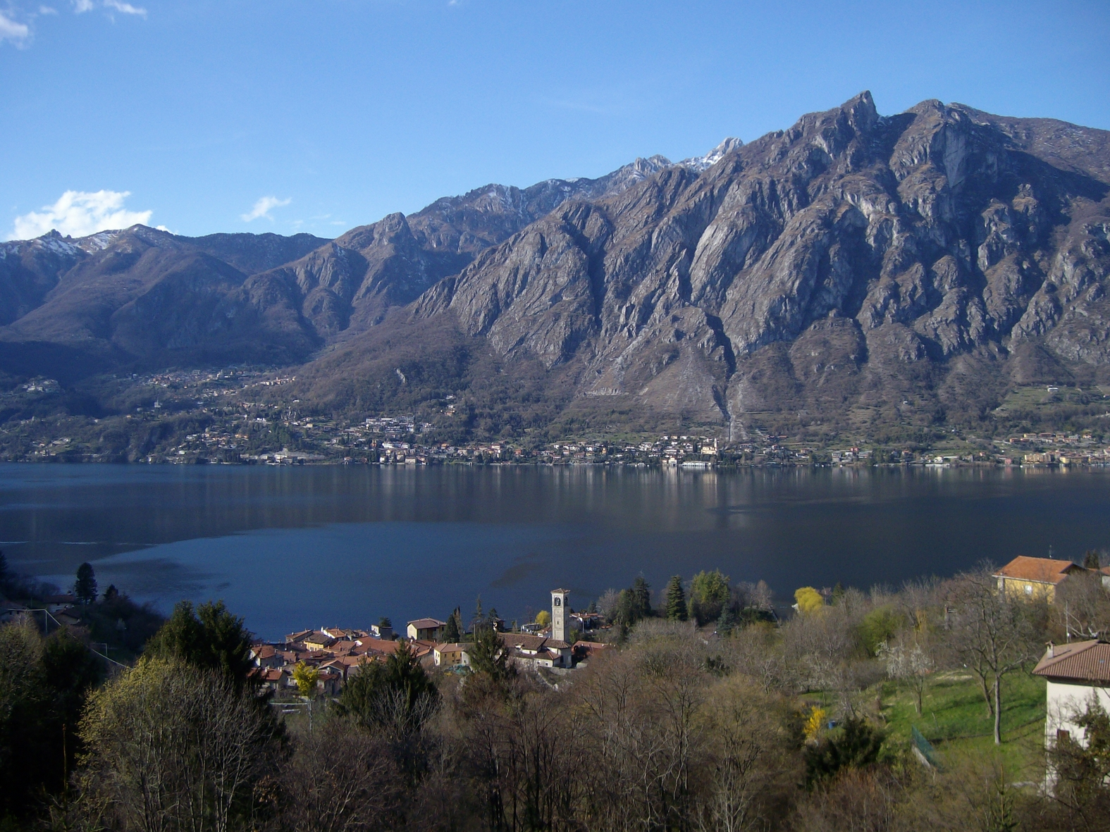 Caves Lake Lugano