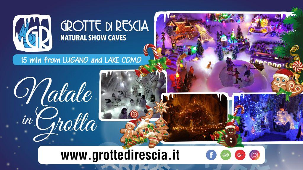 Natale in Grotta Lago Lugano